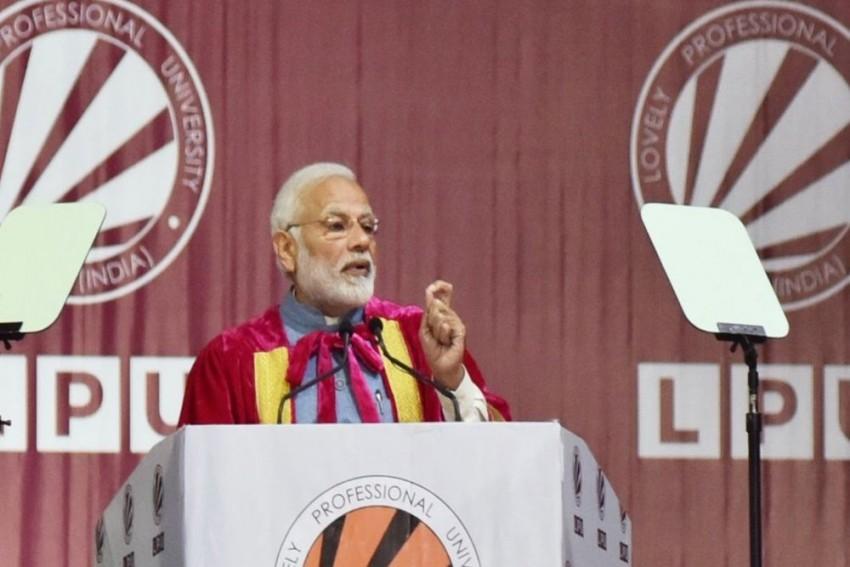 PM Modi Adds 'Jai Anusandhan' To 'Jai Jawan, Jai Kisan' And 'Jai Vigyan'