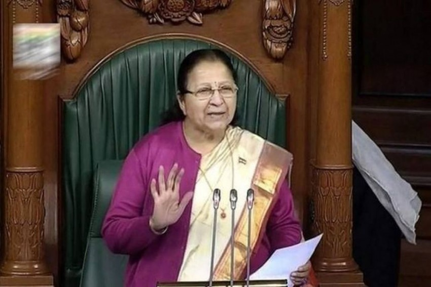 19 AIADMK, TDP Members Suspended By Lok Sabha Speaker Sumitra Mahajan