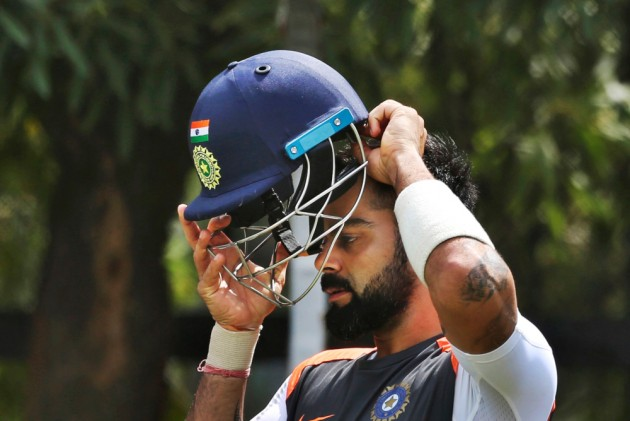 In Pics: India Captain Virat Kohli Embraces Pink In Support For THIS Noble Cause
