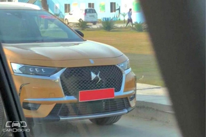 Groupe PSA's BMW X1, Audi Q3 Rival DS 7 Crossback Spotted In India