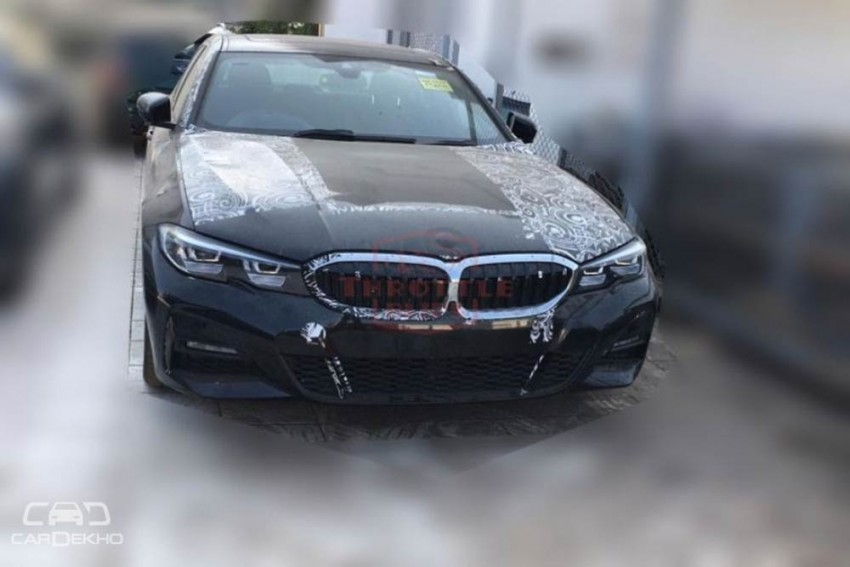 New-Gen BMW 3 Series Spotted In India; 2019 Launch On The Cards