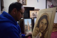 Afghan Artists Tryst With Art In India