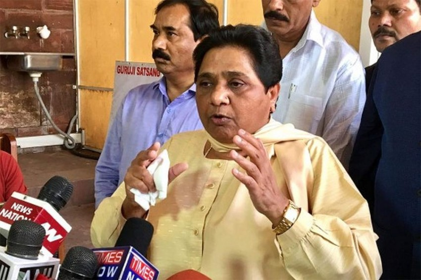 Mayawati Slams Centre's Plea on Ram Temple Land, Calls It BJP's Election Stunt