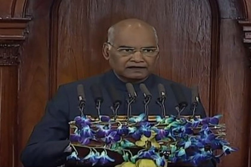 Modi Govt Working For 'New India'; Has Given Hope To People: President Kovind