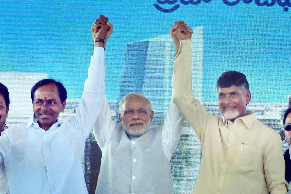 The Travails Of Being BJP In Andhra Pradesh-Telangana