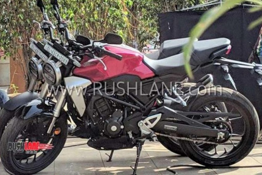 Honda CB300R Spotted In India Spec During Ad Shoot