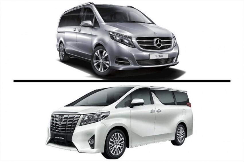 2019 Mercedes-Benz V-Class vs Toyota Alphard: Comparison