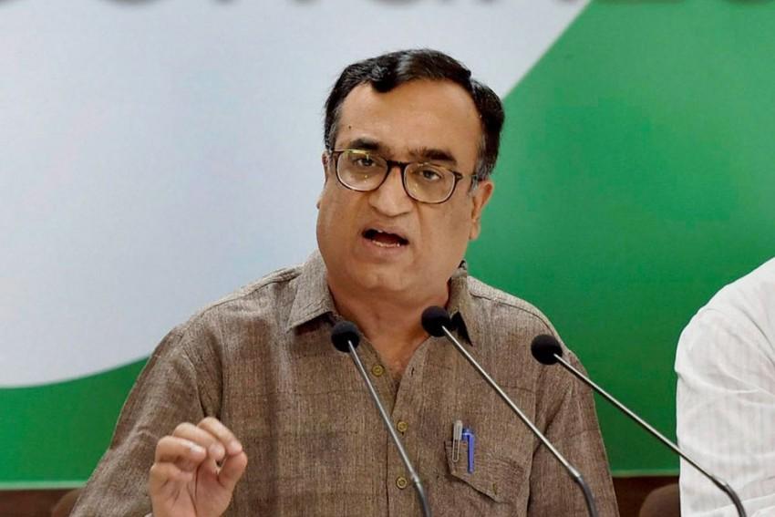 Ajay Maken Resigns As Delhi Congress Chief