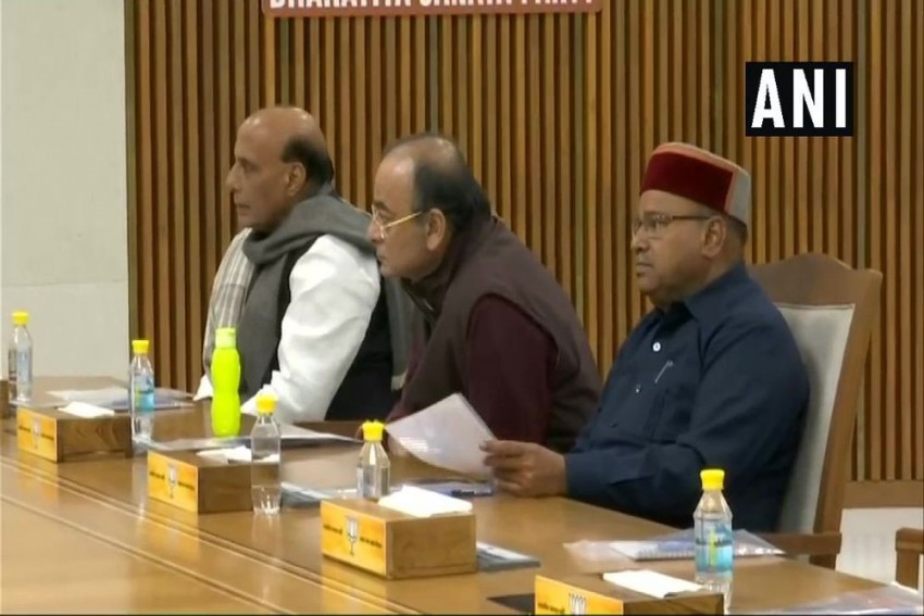Rajnath, Jaitley, Thawarchand BJP Observers For Election Of Legislature Leaders In 3 Key States