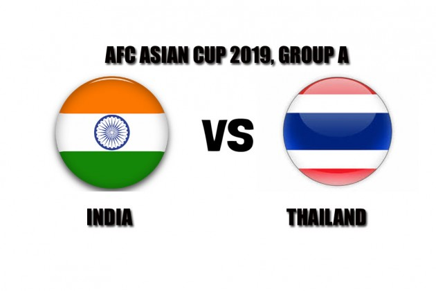 AFC Asian Cup 2019, India Vs Thailand: Live Streaming, TV