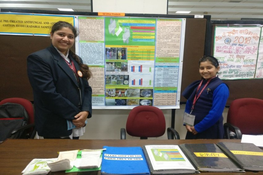 From Herbal Sanitary Pads To Edible Cutlery: Children Lead The Way At Science Congress