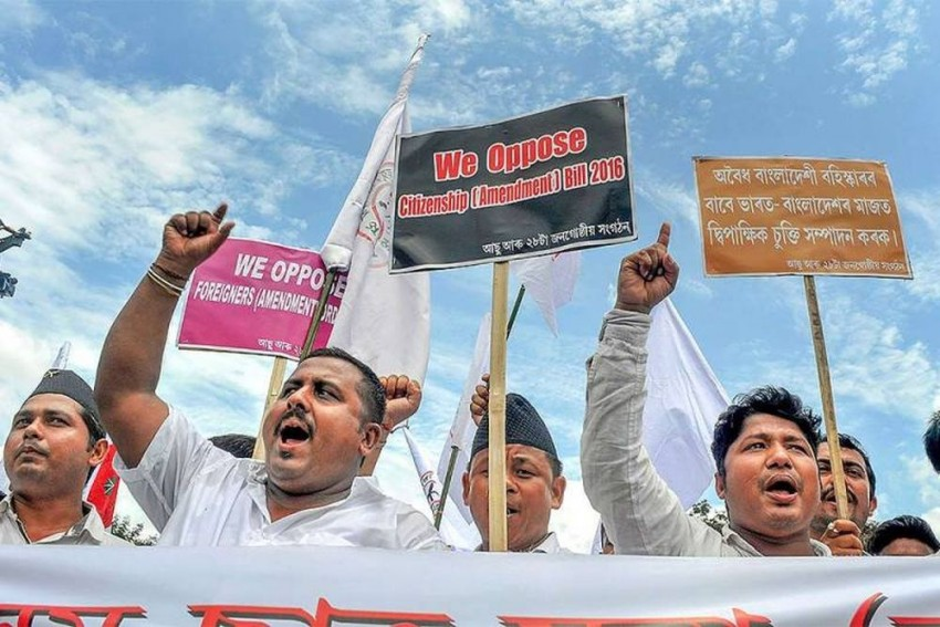 Assam Groups Observe 'Black Day' In Protest Against Citizenship (Amendment) Bill 2016