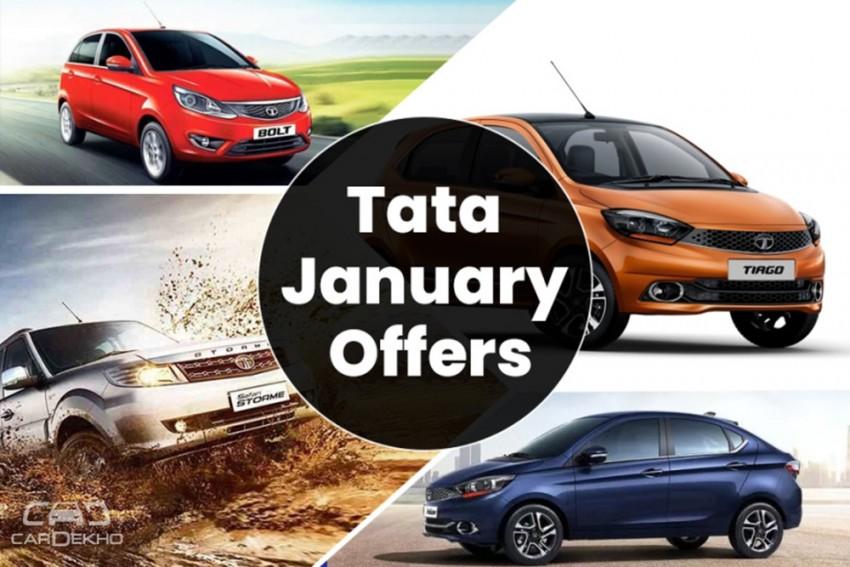 January Discounts On Tata Cars: Offers Upto Rs 65,000 On Hexa, Nexon, Safari & Bolt