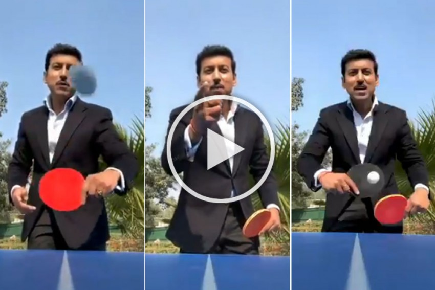 'Bas 5 Minute Aur': Sports Minister Rajyavardhan Singh Rathore's Challenge Is Mighty Impressive – WATCH