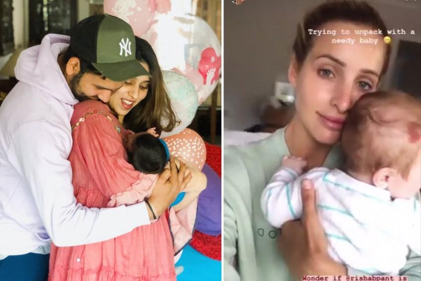 'Babysitter' Rishabh Pant On High Demand; Rohit Sharma, Bonnie Paine Ask For Help