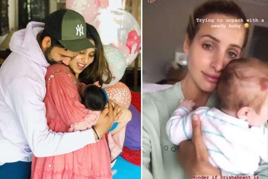 Babysitter Rishabh Pant On High Demand Rohit Sharma Bonnie Paine Ask For Help