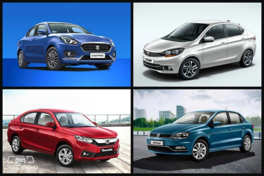 Cars In Demand: Maruti Dzire, Honda Amaze Top Segment Sales In December 2018