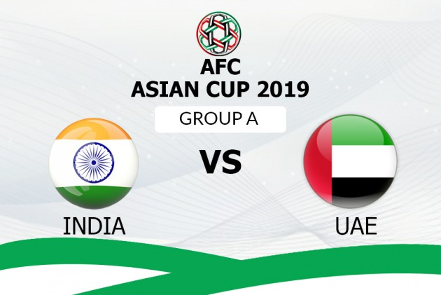 AFC Asian Cup, India Vs UAE: Live Streaming, TV Guide, Likely XIs