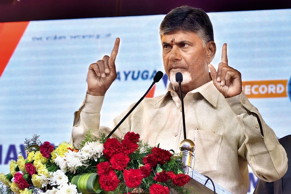 Modi Misusing Democratic, Constitutional Institutions Against His Political Adversaries: Chandrababu Naidu
