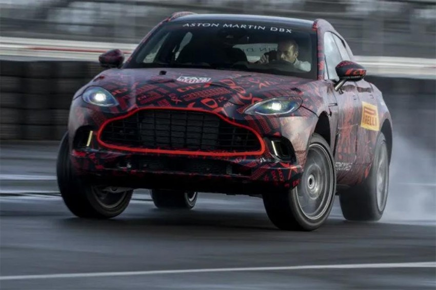 Aston Martin's DBX Will Be Powered By A 550PS Turbocharged V8!