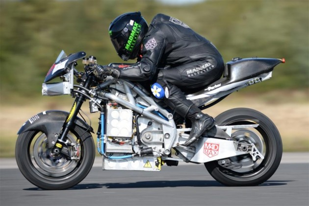 An Electric Bike Just Blew Past The 300kmph Barrier!