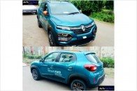 Renault Kwid Facelift Spied In Full With Interior Details Ahead Of Launch