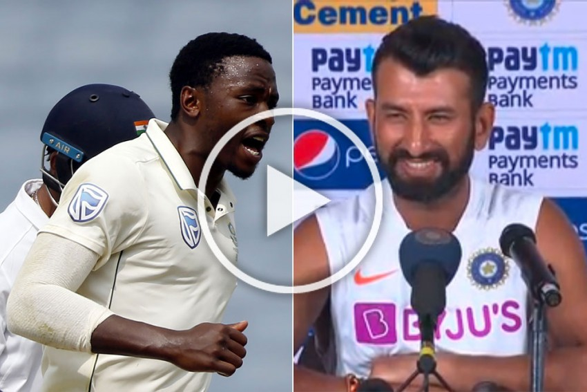 IND vs SA, 2nd Test: From The Horse's Mouth! Here's What Happened When Kagiso Rabada Tried To Sledge Cheteshwar Pujara - VIDEO