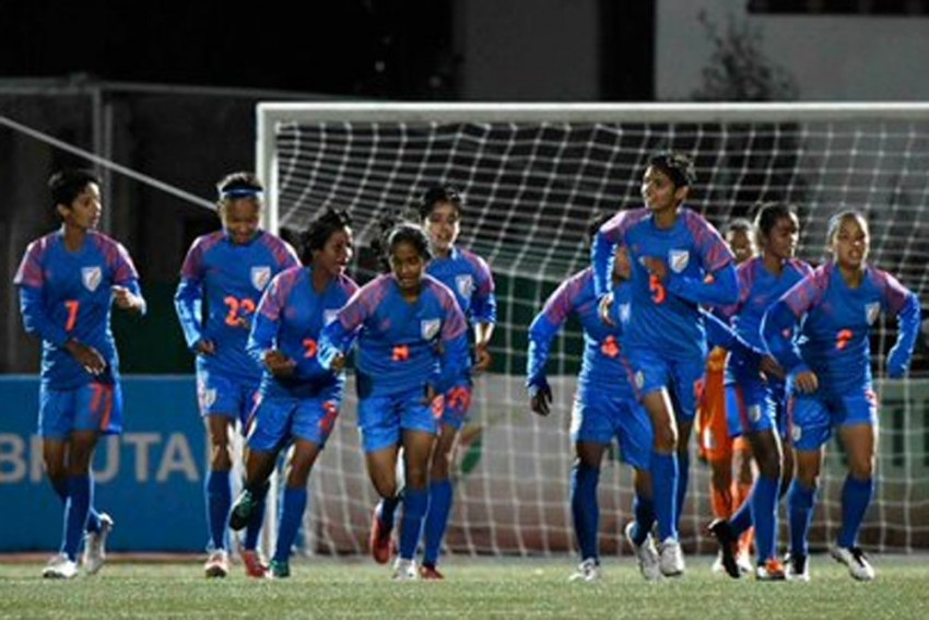 SAFF U-15 Women's Championship: India Crush Bhutan 10-1 To Enter Final