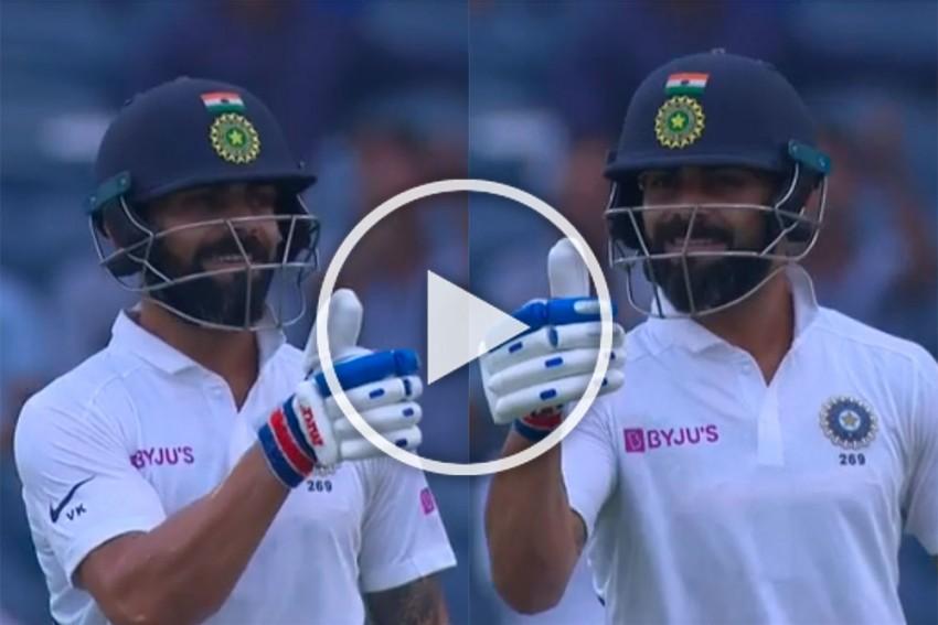 IND Vs SA, Pune Test: Virat Kohli Trolls Kagiso Rabada With Playful 'Thumbs Up' As India Get Four Bonus Runs - WATCH