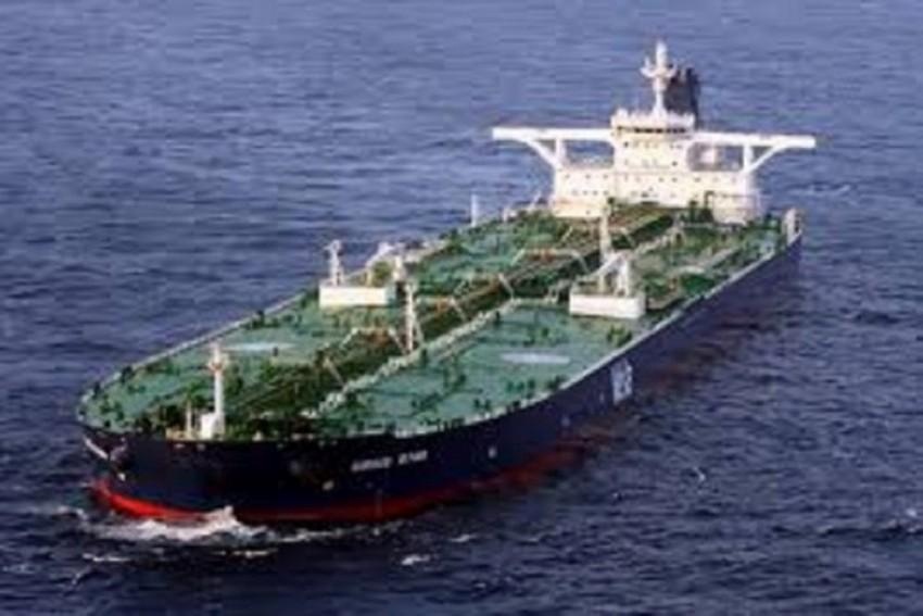 Iranian Oil Tanker Hit By Rockets Off  Saudi Coast