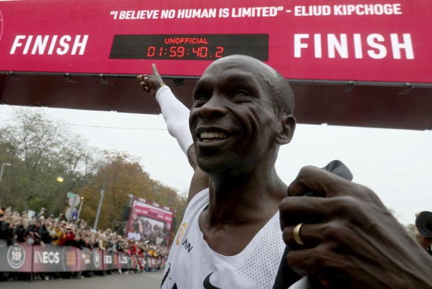 Busting The Mythical Barrier: Eliud Kipchoge Becomes First Man To Run Marathon Under Two Hours