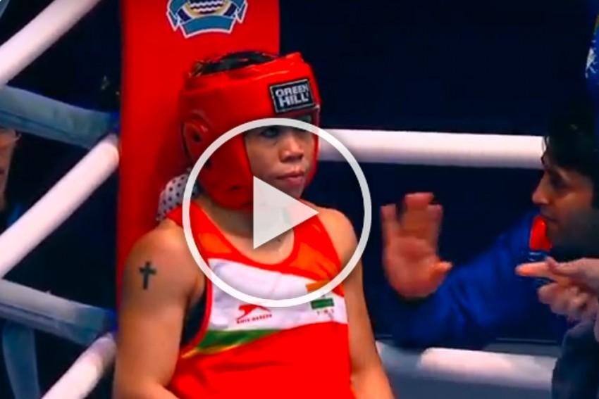 MC Mary Kom Cries Foul, Tags Sports Minister Kiren Rijiju And PM Narendra Modi Video After Losing World Championships Bout