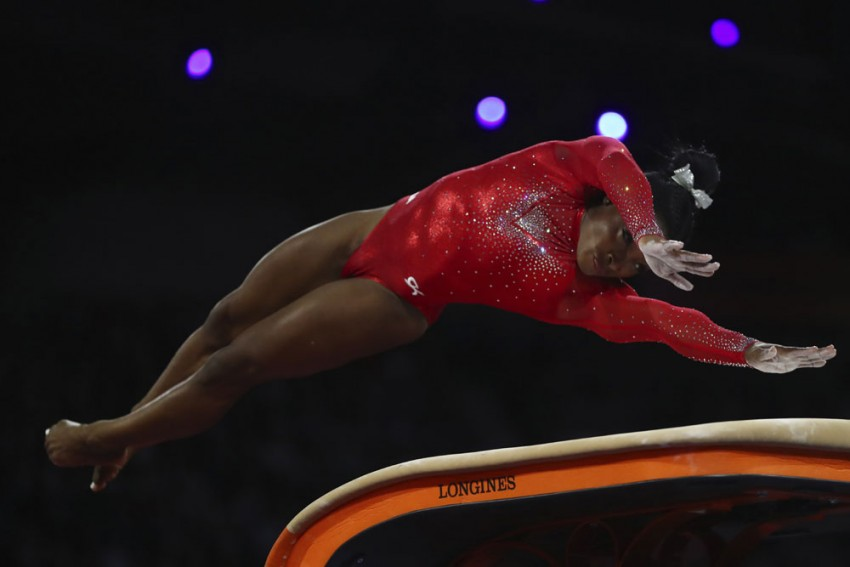 US Gymnastics Queen Simone Biles Wins Record-Equalling 23rd Worlds Medal