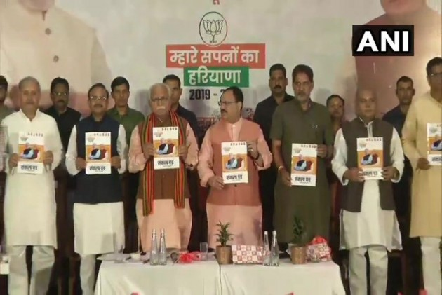 In BJP's Haryana Manifesto, Collateral Free Loan To SCs, Interest-Free Loans To Farmers