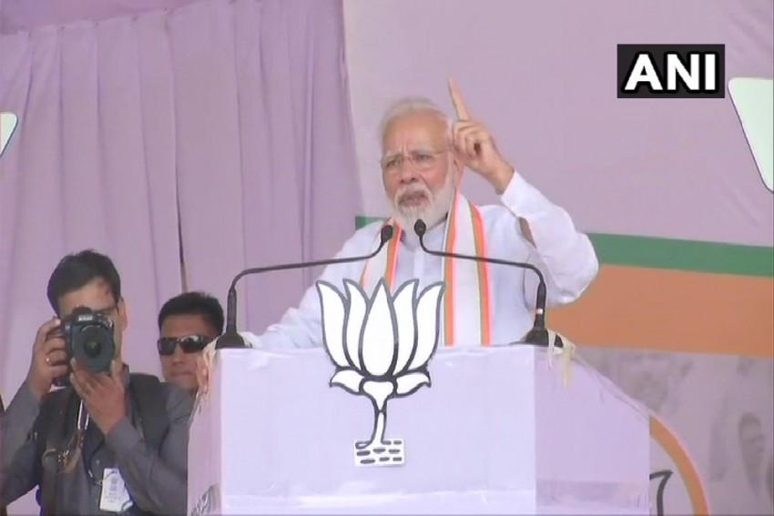 'If They Have Guts': PM Modi Dares Opposition To Bring Back Article 370