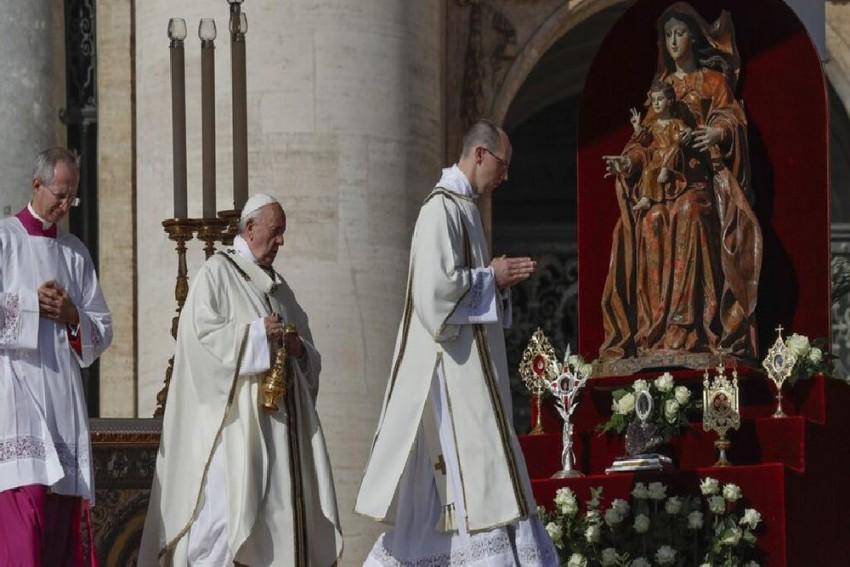 Pope Francis Elevates Kerala-Born Nun Mariam Thresia To Sainthood