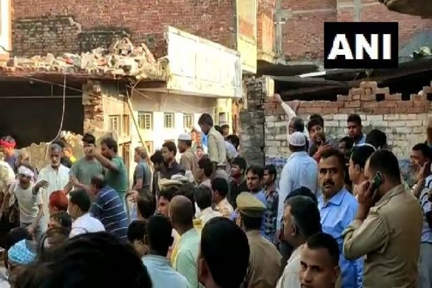 12 Killed, 15 Injured In Cylinder Blast In Uttar Pradesh's Mau