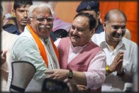'... A Mouse, That Too Dead': Manohar Lal Khattar On Sonia Gandhi's Return As Congress Chief