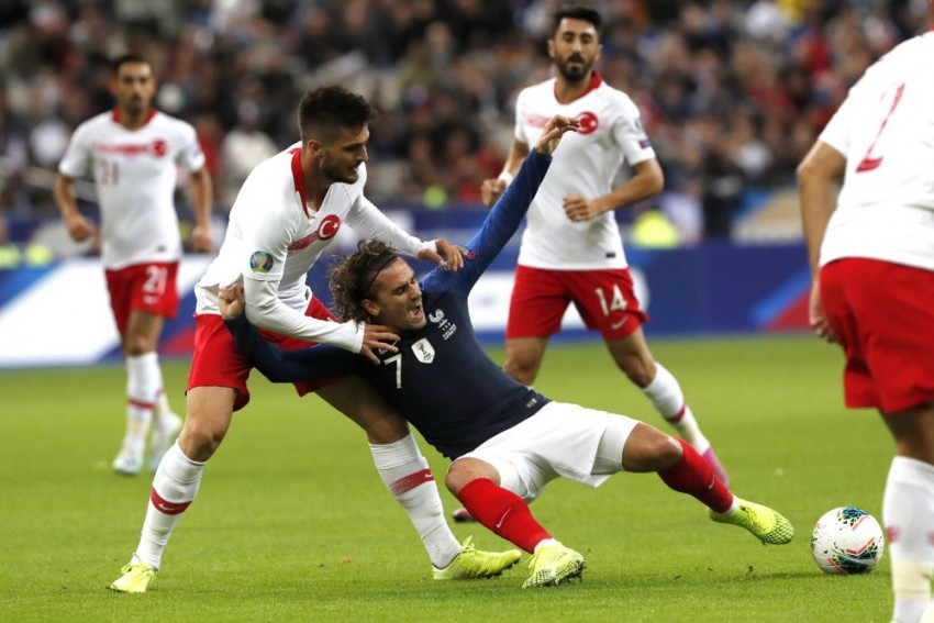 Antoine Griezmann And France 'Sad' After Turkey Draw Halts Euro 2020 Qualification