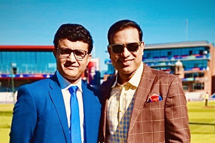 BCCI President-Elect Sourav Ganguly, Former Teammate VVS Laxman Engage In Lovely Convo; Leaves Fans Proud