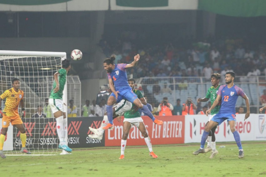 2022 FIFA World Cup Qualifier Highlights - India Escape With 1-1 Draw Vs Tactical Bangladesh