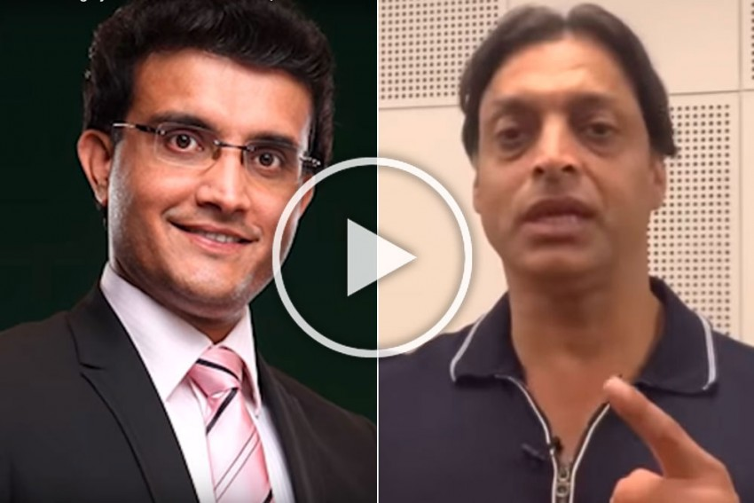 IND Vs PAK: It All Changed After Sourav Ganguly, Never Thought India Could Defeat Pakistan Till He Became Captain - Shoaib Akhtar
