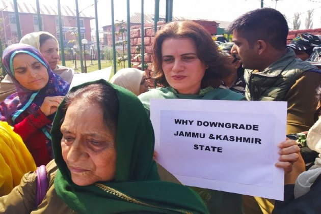 Arrest Of Women Protesters Will Only Delay Restoration Of Normalcy In J&K: NC