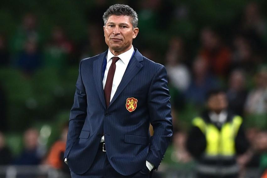 Bulgaria Coach Krasimir Balakov Apologises To England After Racist Chants