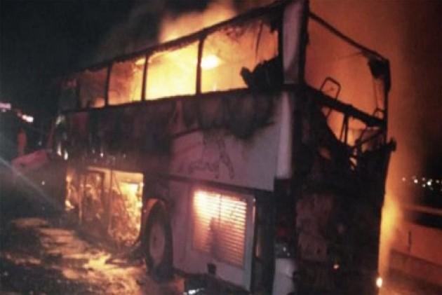35 Foreigners Dead In Bus Crash In Saudi Arabia's Medina City