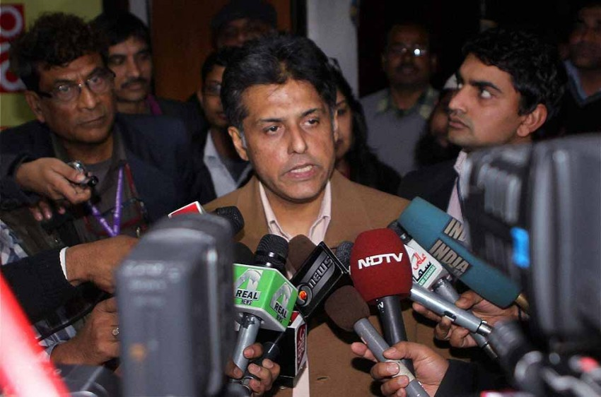 Economy In ICU, Utter Incompetence Of BJP Govt To Be Blamed: Manish Tewari