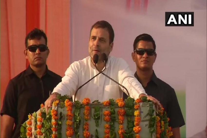PM Narendra Modi Has Destroyed India's Economy: Rahul Gandhi In Haryana's Mahendragarh