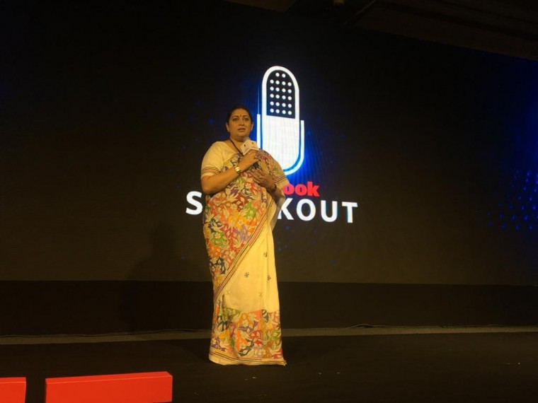 'I Celebrate Women Who Resist Urge To Live As Victims': Smriti Irani At Outlook SpeakOut 2019