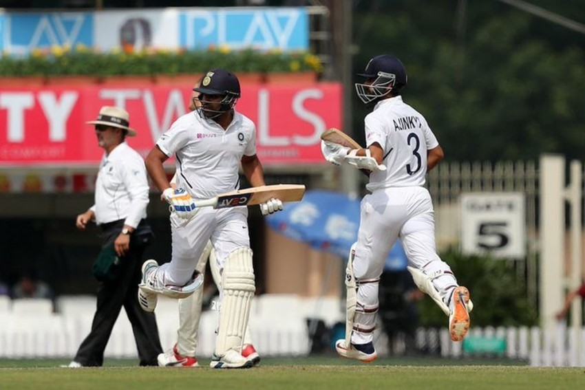 India vs South Africa, 3rd Test, Day 1, Ranchi, Highlights: Rain Ruins Play After Rohit Sharma, Ajinkya Rahane Heroics