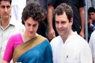Rahul In Delhi, Priyanka In Lucknow Lead Padyatras On Gandhi Jayanti